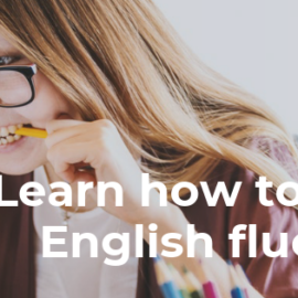 Learn how to speak English fluently
