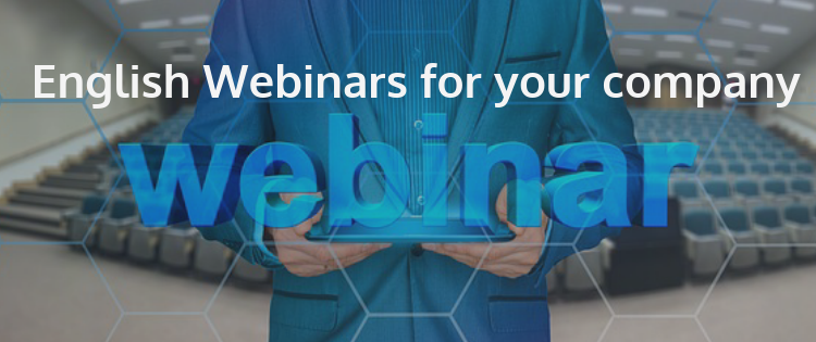 english hwebinars fo ryour company