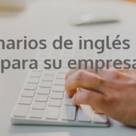 Seminarios de inglés online para su empresa